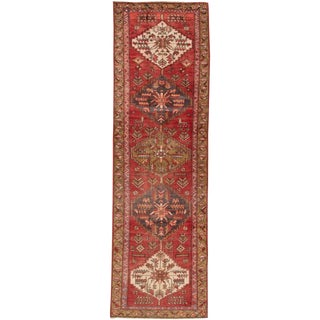 "Apadana - Vintage Persian Heriz, 2'10"" x 9'6"""