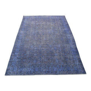 Oriental Overdyed Turkish Rug - 6′11″ × 10′