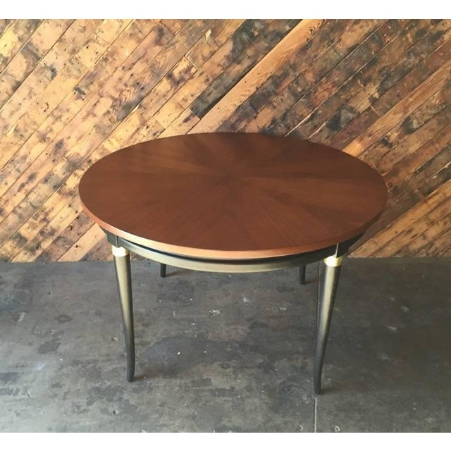 Mid-Century Regency Dining Table - Image 2 of 5