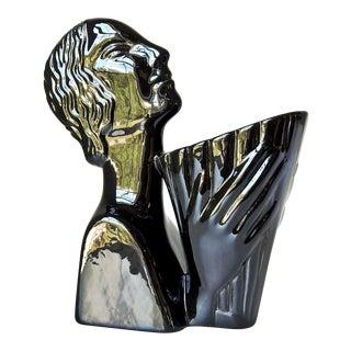 Art Deco Figural Vase
