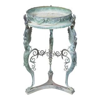 Bronze Jardiniere/Gueridon Table