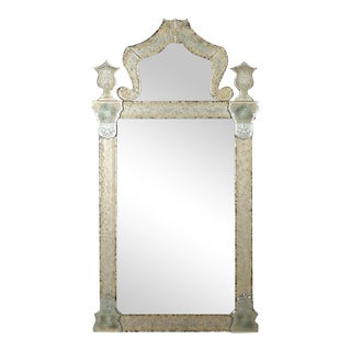 Venetian Engraved Mirror