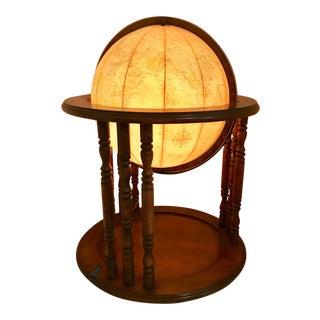 """Mid Century 18"""" Eliminated Globe"""