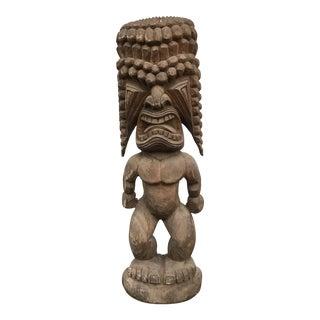 Carved Tiki Totem