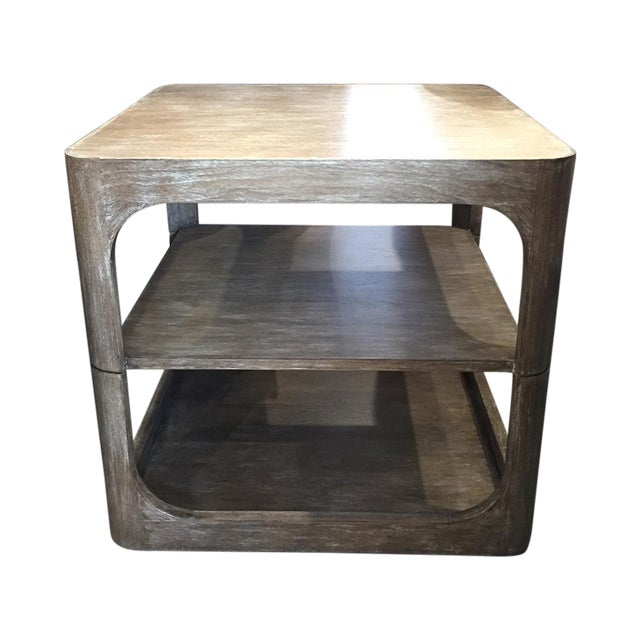 Modern Two-Tier Accent Table - Image 1 of 6