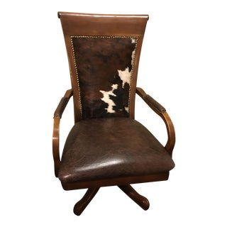 Cowhide Office Chair
