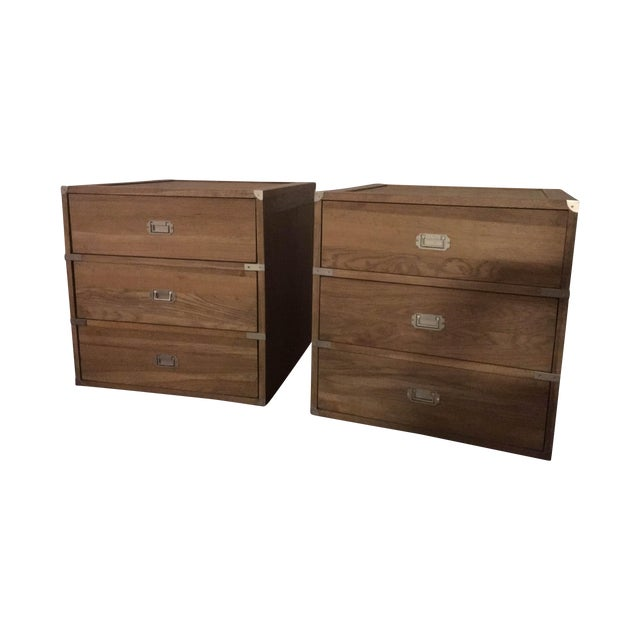 Image of Ballard Designs 3-Drawer Campaign Chest