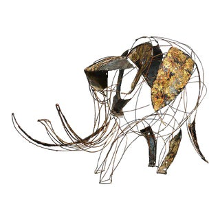 John Jagger Brutalist Elephant Sculpture