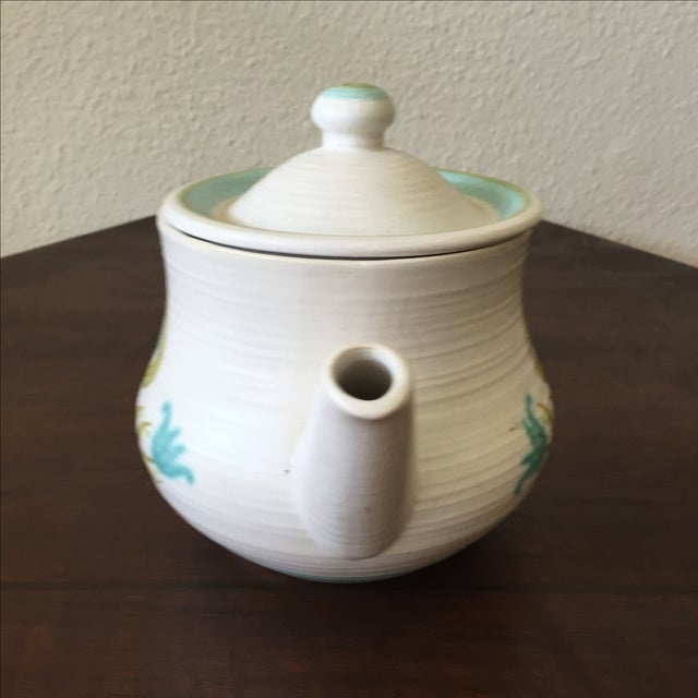 Franciscan Earthenware Mid-Century Floral Teapot - Image 5 of 8