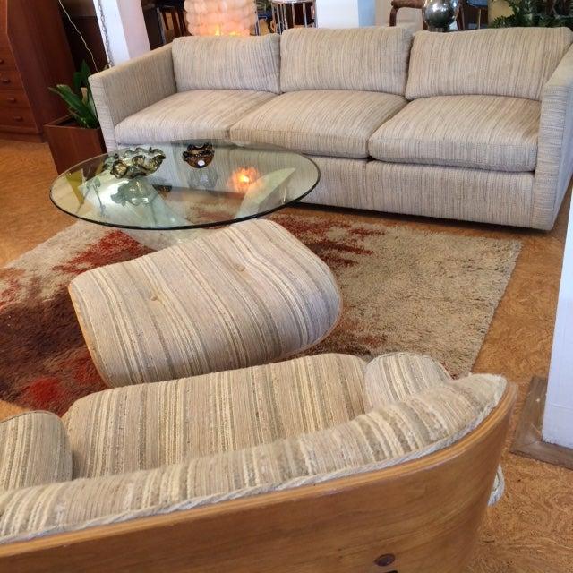 Knoll Long & Low Sofa w/ Original Upholstery - Image 9 of 10
