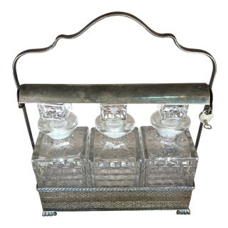 Silver Decanter - Set of 3
