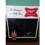 Image of Vintage Miller Lighted Beer Sign