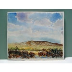 Image of Homestead & Mountains Reversible Paintings