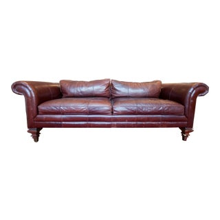 Ralph Lauren Vintage Leather Sofa