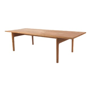 Vintage Hans Wegner Danish Oak Coffee Table