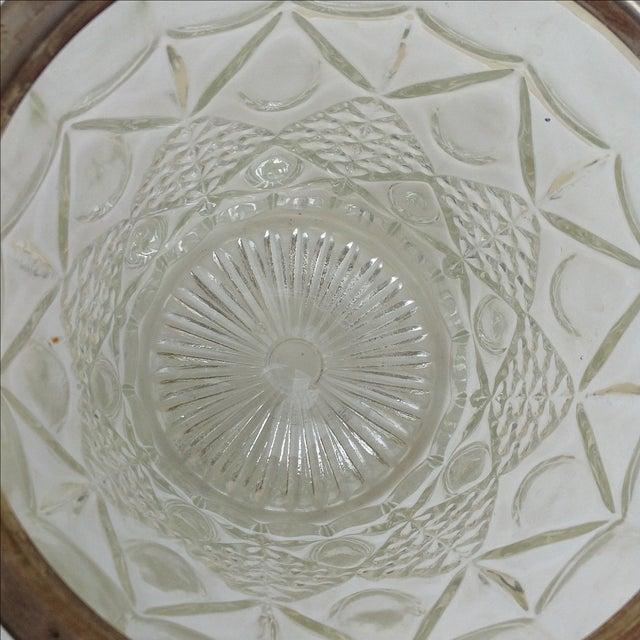 Mid Century Crystal Ice Bucket - Image 6 of 7
