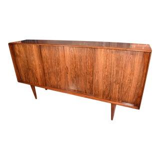 1960's Vintage Danish Rosewood Credenza Sideboard