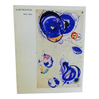 Vintage 1987 Sam Francis Art Catalog