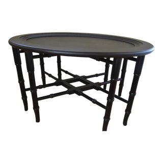 Ethan Allen Chinoiserie Tray Table