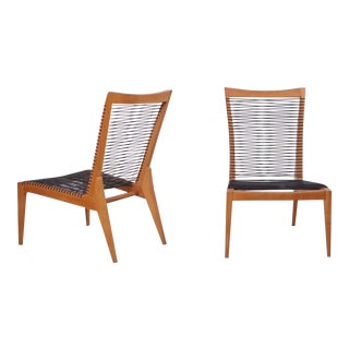 Pair of 1950 Louis Sognot Lounge Chairs