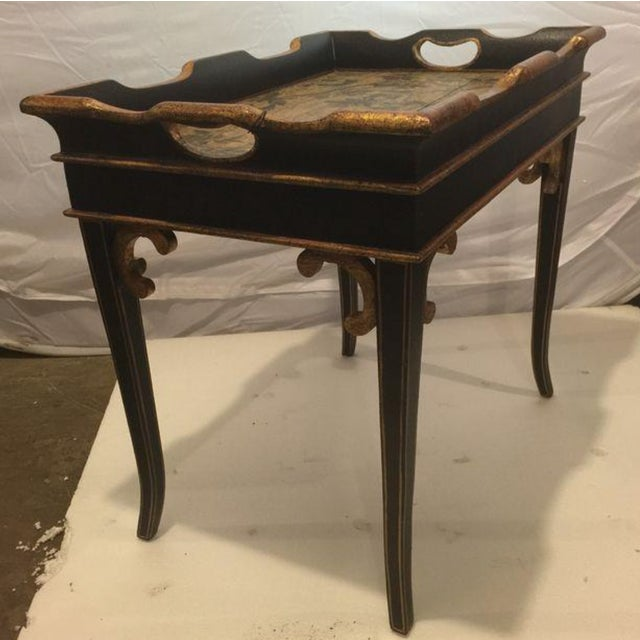 Small Traditional Tray Table - Image 5 of 5