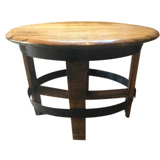 Barrel Center Table