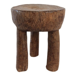 Vintage Senufo Wood Stool