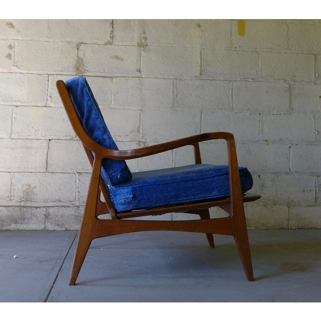 Norwegian Mid Century Modern Lounge Chair - Image 2 of 6