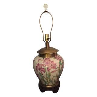 Frederick Cooper Porcelain Brass Lamp