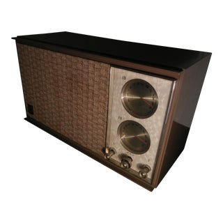 1960s Gold Mesh G.E. Audio Tuner
