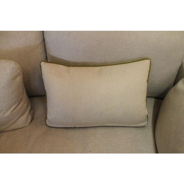 Image of Velvet Blue-Green Pillow
