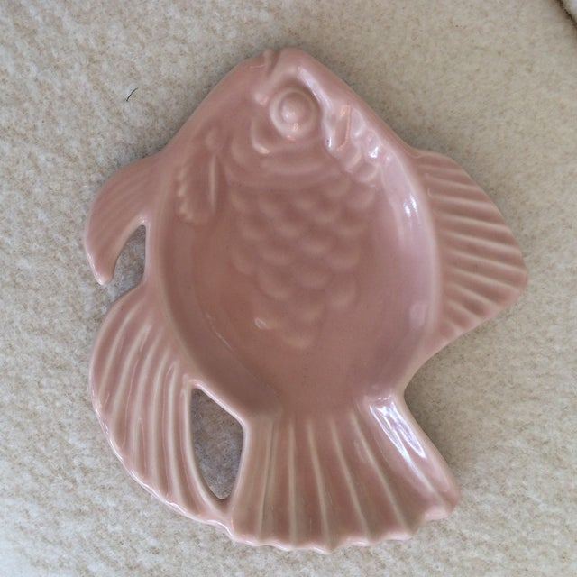 Rookwoood Fish Ashtray - Image 2 of 3