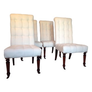 Barclay Butera Tufted Dining Chairs - Set of 4