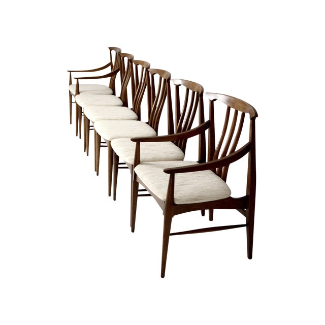 Mid-Century Danish Dining Chairs - Set of 6 - Image 1 of 11