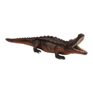 Large Leather Alligator