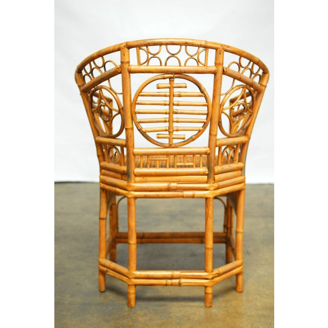 Brighton Pavilion Style Chinoiserie Chairs - Pair - Image 4 of 9