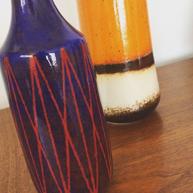 Image of Scheurich Ceramics Ultramarine Blue Vase