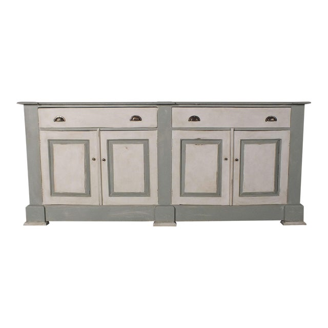 1970's French Country Painted Buffet - Image 1 of 10