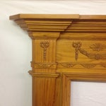 Image of New Pine Fireplace Mantel, Gumps