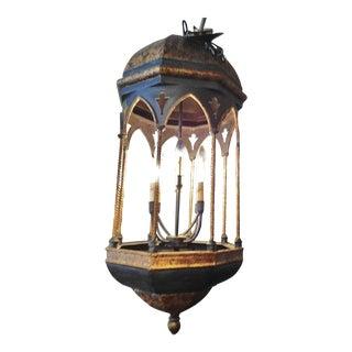 Lantern Style Large 8 Light Chandelier