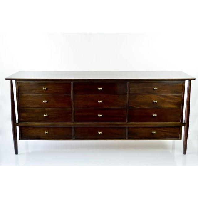 Vintage Finn Juhl Style Dresser from John Stuart - Image 2 of 8