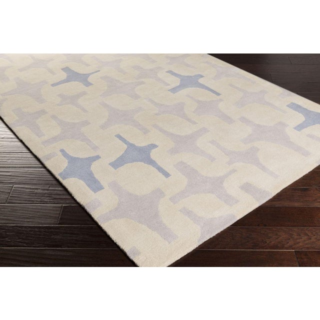 "Lotta Jansdotter Slate ""Decorativa"" Rug - 8' x 11' - Image 4 of 7"