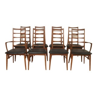 Koefoeds Hornslet Danish Modern Chairs - Set of 8