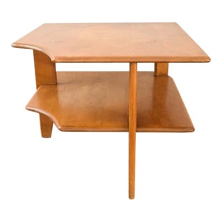 Heywood-Wakefield Mid-Century Corner End Table