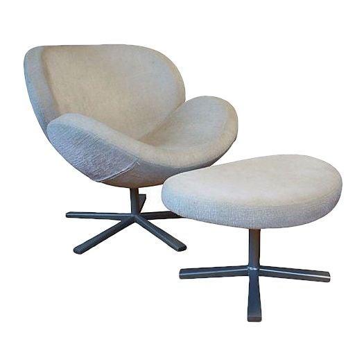BoConcept Shelly Living Chair Ottoman Chairish
