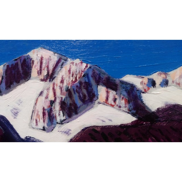 "Conrad Buff Vintage ""Sierra Mountains"" Painting - Image 7 of 9"