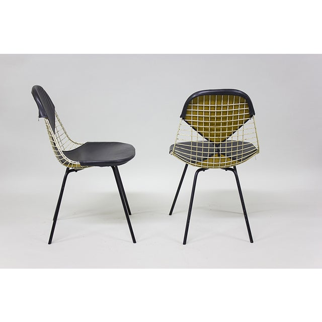 "Image of 1950s Early Eames Wire ""Bikini"" Chairs - A Pair"