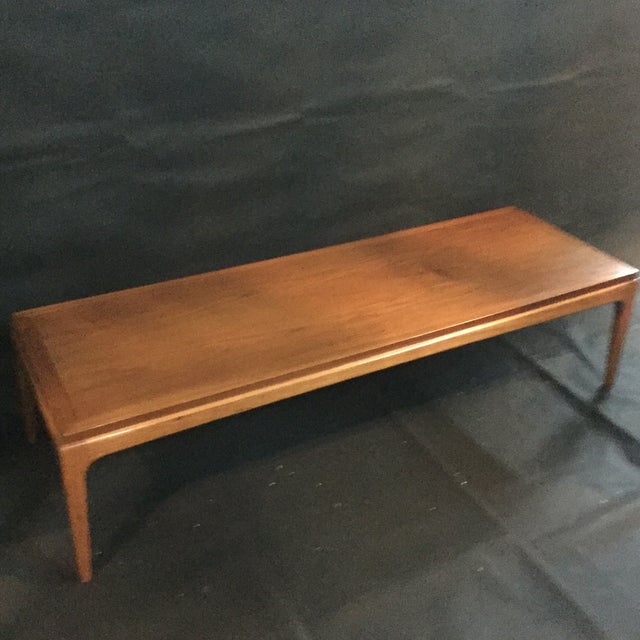 Image of Mid-Century Lane Walnut Coffee Table