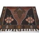 "Image of Hand-Woven Turkish Kilim Rug - 6'7"" X 11'3"""