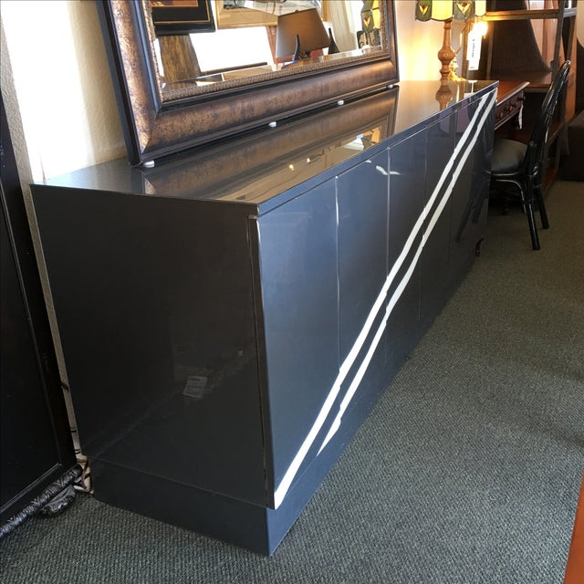 Modern Metallic Lacquer Sideboard - Image 2 of 10